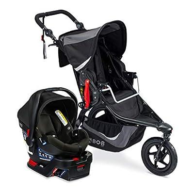 BOB Revolution Flex 3.0 Travel System with B-Safe Gen2 Infant Car Seat Graphite Black from AmazonUs/BIYN9
