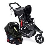 BOB Revolution Flex 3.0 Travel System with B-Safe Gen2 Infant Car Seat Graphite Black