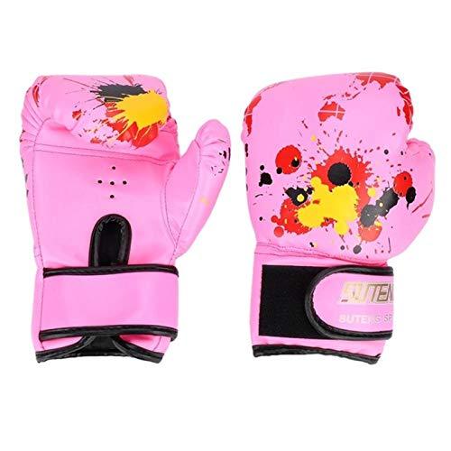 ZAIZAI 1 par de guantes de boxeo para niños de entrenamient