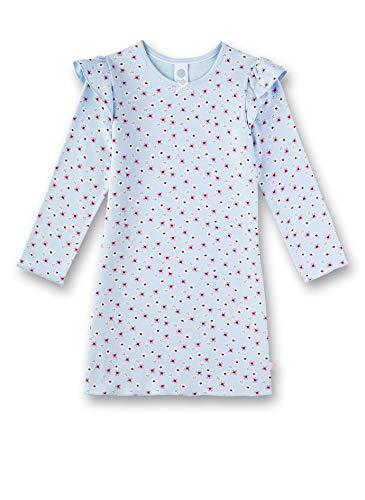 Sanetta Mädchen Nachthemd, Blau (Ice Blue 50310), (Herstellergröße: 104)
