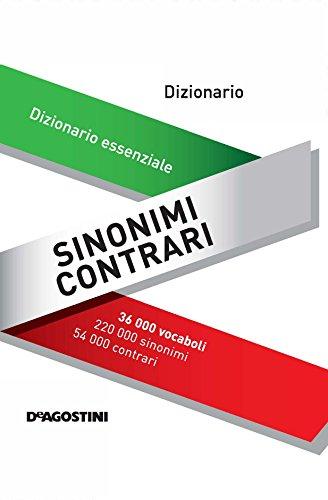Dizionario Tascabile Sinonimi E Contrari