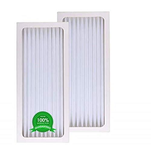 Aqua Green 04384 HEPA Filter Compatible with Hamilton Beach 04383, 04384, 04385, 990051000 Air Purifier Filter 2-Pack