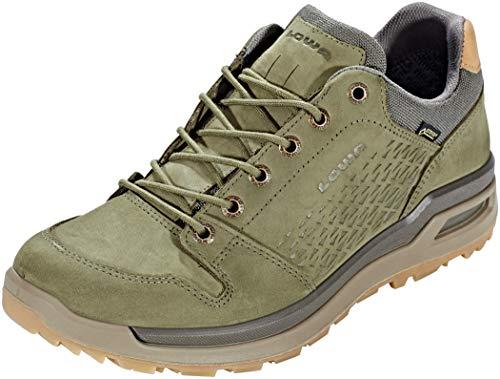 Lowa Mens Locarno GTX Lo Nubuck Fabric Shoes
