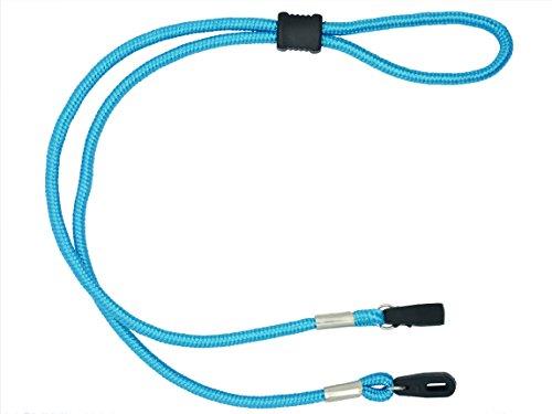 GoGrip GoGrip Sport-Brillenkordel mit Knebelverschluss, robustes Brillenband Gr. 85, blau