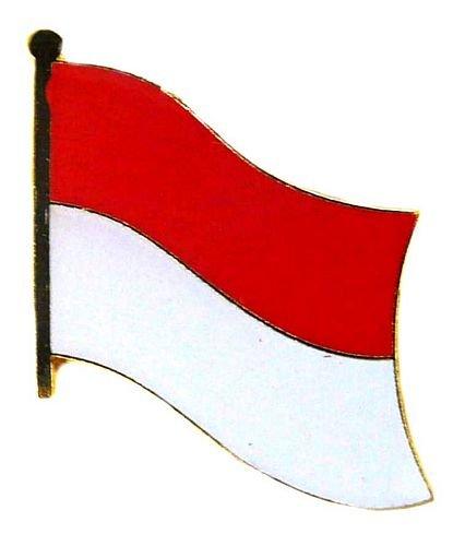 Flaggen Pin Monaco Fahne Flagge Anstecknadel