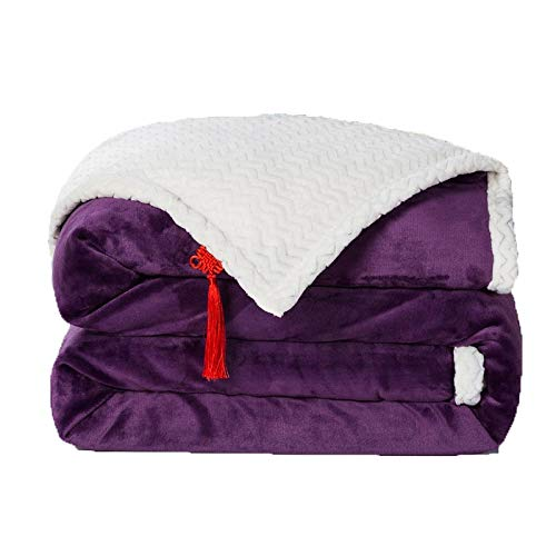 TodGH Double-sided fleece fleece blanket,Great for relaxing-bed/sofa/car/good gift for family/friends.