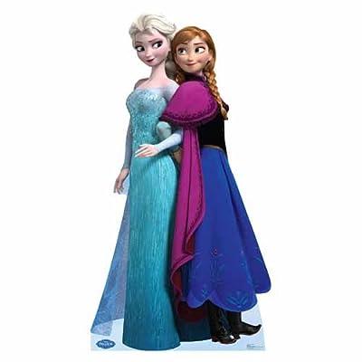 Frozen sisters wall sticker