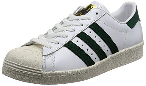 adidas Originals Superstar 80s Sneaker BB2230 White/Collegiate Green/Gold Gr. 44 (UK 9,5)