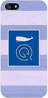 IPH5 CASE Stripes, Blue Whale- Q