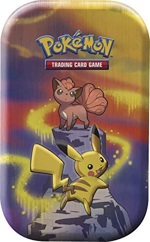 Unbekannt Pokemon - Kanto-Stärke Mini-Tin-Box - Pikachu & Vulpix - Deutsch