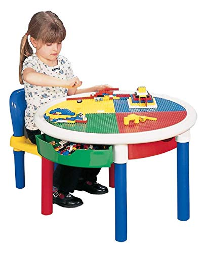 Liberty House Toys ronde activiteitentafel met 4 laden