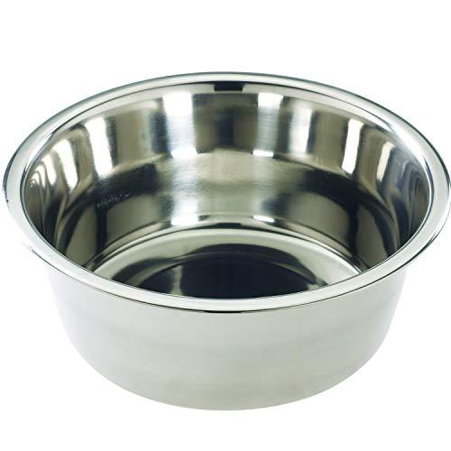 SPOT Mirror Finish Bowl   Stainless Steel   Pet Dish   Pet Dish For Dogs   Pet Dish For Cats   10 Quart   By Ethical Pet