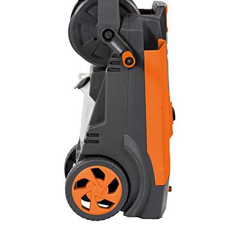 DELTAFOX Hochdruckreiniger - max. Druck 150 bar - max. 450 l/h Fördermenge - 6m Schlauch - 5m Kabel - 2100 W - Reinigungsmittelbehälter - Schlauchtrommel - Kabelhalter - 5