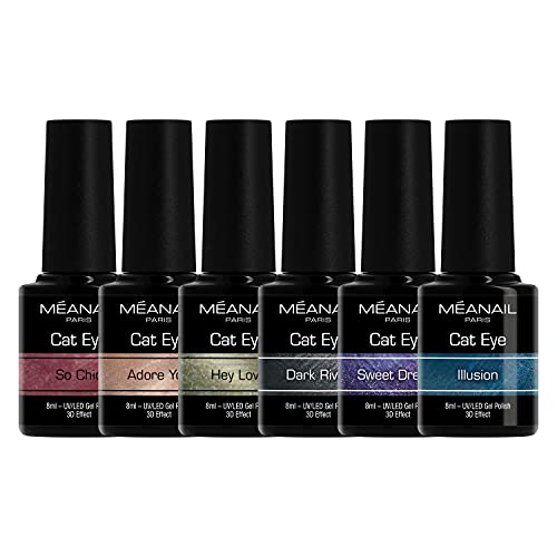 UV Nagellack Shellac Set Meanail® • Gellack Set Paris • UV Gel Set UV Nagellack Sets Maniküre + Pediküre • Nageldesign Nailart • Vegan&Cruelty free