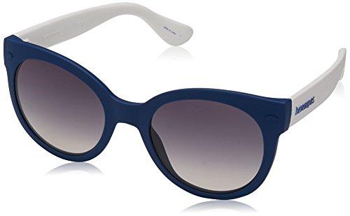 Havaianas NGOLDNHA/M LS QMB Gafas de sol, Azul (Bluette White/Grey Grey), 52 para Mujer