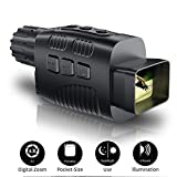 """JStoon Digital Night Vision Monocular, Night Vision Scopes with 1.5"""" LCD Infrared Monocular Allows Viewing in The Dark - Records Images and Video for Outdoor/Surveillance/Camping/Hiking/Bird Watching"""