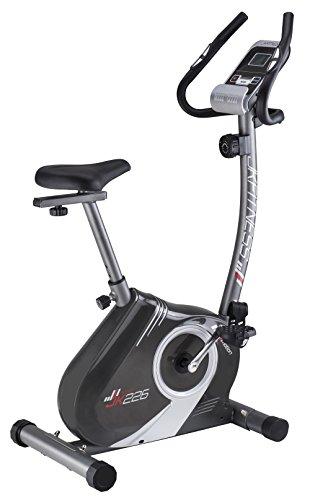 JK FITNESS Bicicletta Magnetica Tekna, Unisex Adulto, Unisex Adulto, Grigio, 92X43X124 cm (lxwxh)