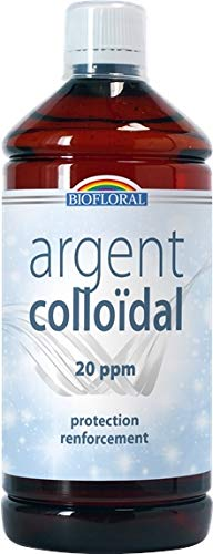 Argent colloidal 20 ppm - 1l - naturel