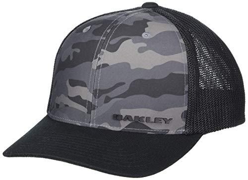 Oakley Men's Trucker Cap Hat, Blackout, X-Larg