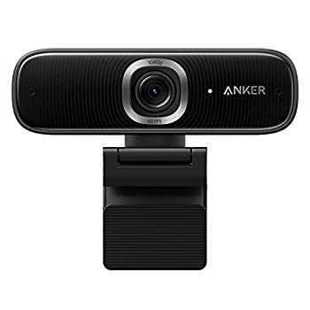 Anker PowerConf C300 Smart Full HD Webcam AI-Powered Framing & Autofocus 1080p Webcam with Noise-Cancelling Microphones Adjustable FoV HDR 60 FPS Low-Light Correction Zoom Certified