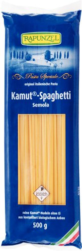 Rapunzel Bio Kamut Spaghetti Semola (2 x 500 gr)