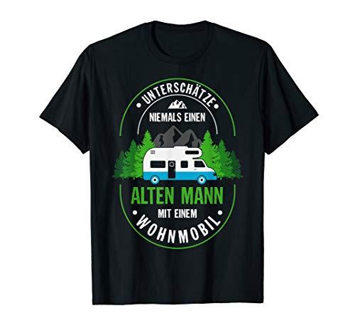 Herren Lustiges Camper Camping Wohnwagen Zelt Wohnmobil Geschenk T-Shirt