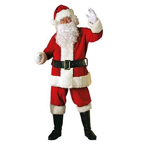 Rubie's 7509 Costume Babbo Natale Velluto