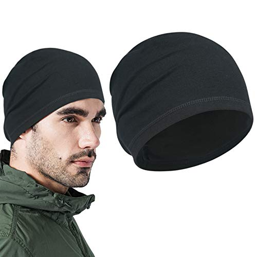 Gorro para Correr para Hombre,Sombrero cálido,Gorra cálida y Transpirable,Sombrero de Bicicleta,Gorro Transpirable...