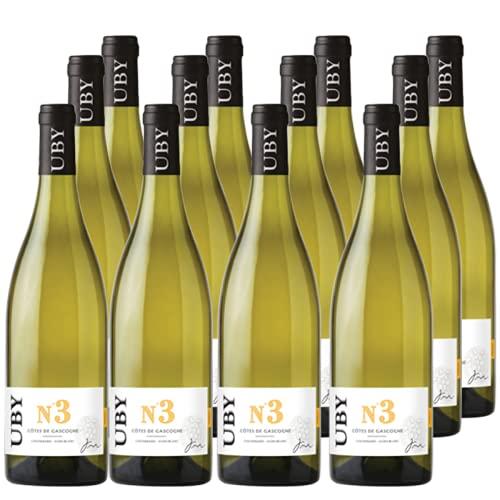 Vorteilspaket UBY Colombard Sauvignon Gascogne IGP No.3 2020 Weißwein Frankreich trocken (12x 0.75 l)