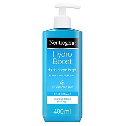 Neutrogena Hydro Boost, Crema Gel Idratante Corpo, con Acido Ialuronico, 400 ml