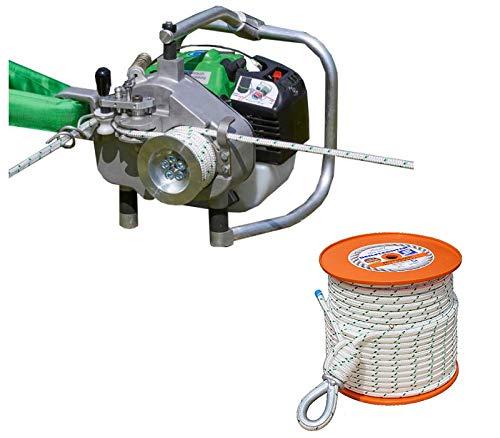 EDER Powerwinch 1200 Spillwinde Seilwinde bis 2400 kg mit Active Motor (mit 100 m Seil)