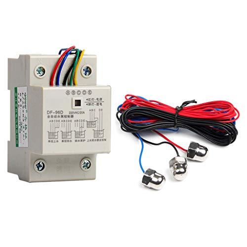 Abcidubxc DF-96D Smart Automatischer Wasserstandsregler,Wasserpumpen-Flüssigkeitsdetektor,Schalter Für Flüssigkeitsstandsdetektor