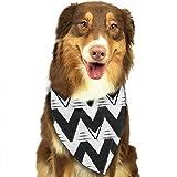 XCNGG Bandana Tribale Chevron Pet Sciarpe Bavaglini Lavabili Triangolo per Cani Fazzoletto Bandane per Accessori per Cani Piccoli e Grandi