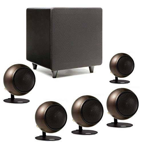 Orb Audio Mini 5.1 Home Theater Speaker System (Hammered Earth)