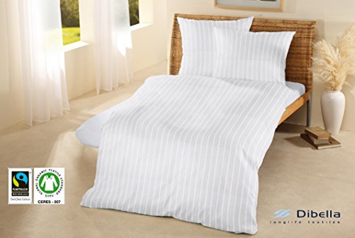 100% Organic Fairtrade Cotton Hotel Quality Duvet Cover 145gsm Combed Cotton (Double...