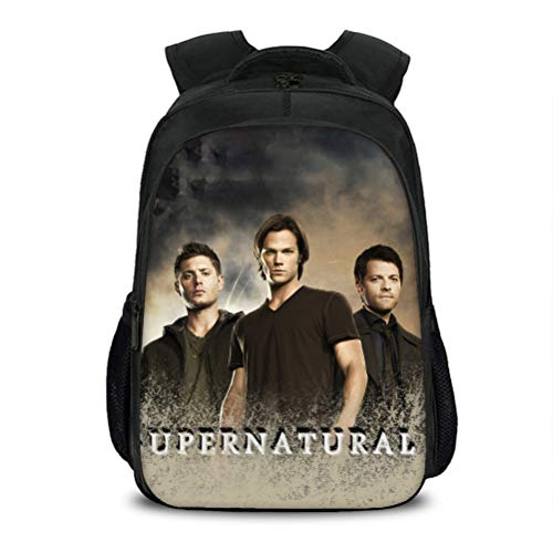 Supernatural High Capacity Backpack Outdoor Light Stylish School Bag Popular Styles Travel Bag Multicolor Daypack Suitable for School Boys and Girls Kids (Color : A03, Size : 40 X 27 X 17cm)