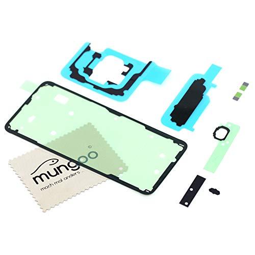 Film adhésif pour couvercle de batterie pour Original Samsung pour Samsung Galaxy S9 (G960F) avec chiffon de nettoyage