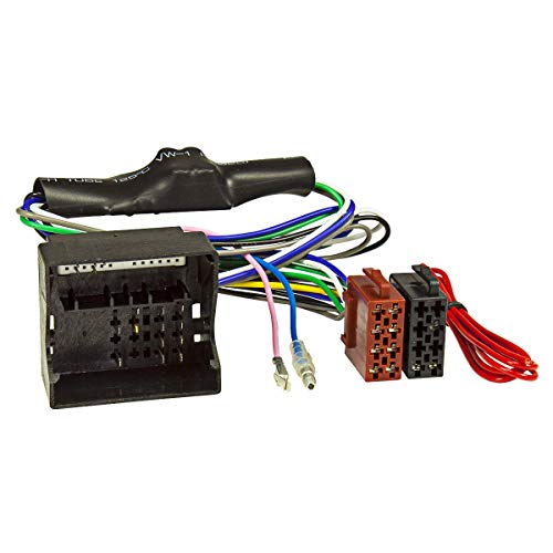 tomzz Audio 7003-007 Aktivsystem Radio Adapter kompatibel mit Audi A3 A4 TT ab 2004 Quadlock auf ISO 16-Pin Bose