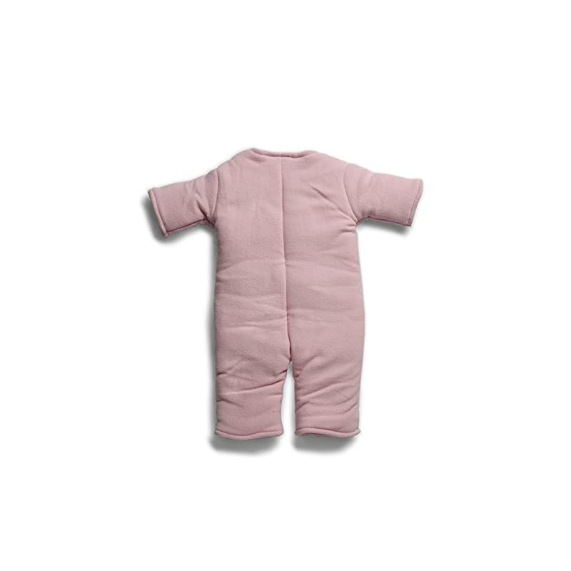crib bedding and baby bedding baby merlin's magic sleepsuit - swaddle transition product - microfleece - pink - 3-6 months