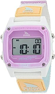 Freestyle Shark Japanese-Quartz Sport Watch with Nylon Strap, White, 20 (Model: 10026835)
