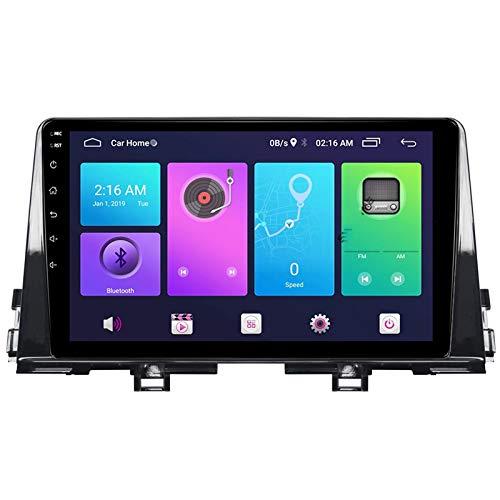 Nav Android 10.0 Car Stereo Double Din para Kia PICANTO RIO MORNING 2017-2020 Navegación GPS Unidad principal de 9 pulgadas Reproductor multimedia MP5 Receptor de video y radio con 4G WIFI DSP Carplay