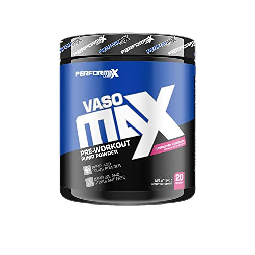 Performax Labs Vasomax 20 Servings Raspberry Lemonade, 200 g