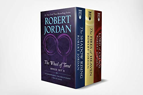 Wheel of Time Box: The Shadow Rising / The Fires of Heaven / Lord of Chaos: Books 4-6 (The Shadow Rising, The Fires of Heaven, Lord of Chaos)