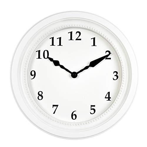 reloj de pared Reloj Reloj de pared Sala de Estar Hogar Creativo Simple Estilo nórdico IKEA Moda Mute Reloj de Cuarzo electrónico Rollsnownow