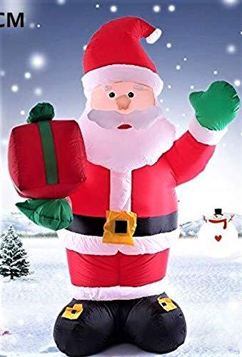 LBA Hinchables Navidad. Papá Noel. Muñeco de Nieve....