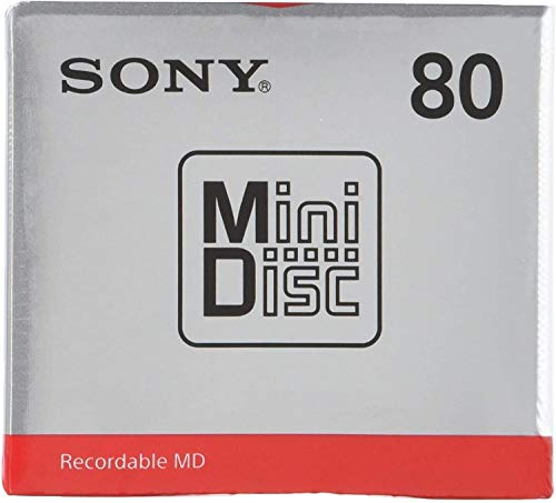 [5 Pcs Set] Sony MD80 Blank Mini Disc 80 Minutes Recordable MD Japan Genuine