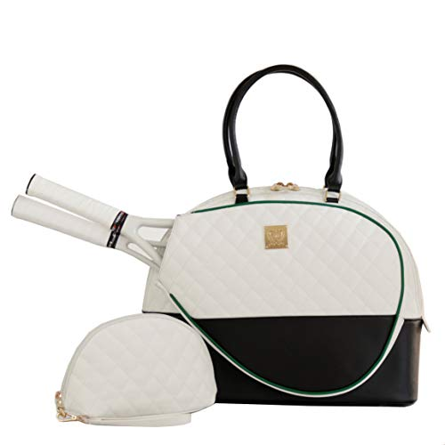 Court Couture Saint Tropez Tennis Bag Black