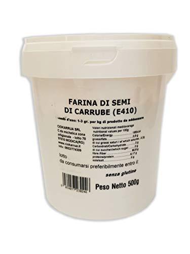 Johannisbrotkernmehl 500 GR Glutenfrei -Verdickungsmittel Stabilisator Emulgator Für Desserts und Eis - locust bean gum