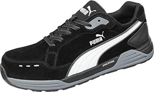 Puma Safety Airwist - Botas de seguridad S3 ESD HRO SRC con tapa de fibra de vidrio, antideslizante, resistente al calor, sin metales, color Negro, talla 47 EU