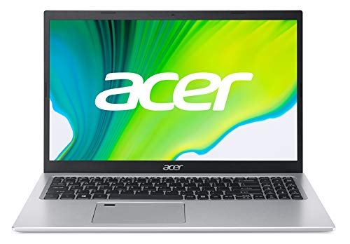Acer Aspire 5 (A515-56-57LJ) 39,6 cm (15.6 Zoll Full-HD IPS matt) Multimedia Notebook (Intel Core i5-1135G7, 16 GB RAM, 1024GB PCIe SSD, Intel Iris Xe Graphics, Windows 10 Home) silber